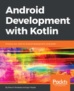 Cover of Android Development with Kotlin