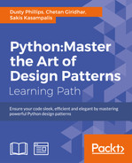 Cover of Python: Master the Art of Design Patterns
