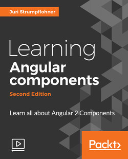 Learning Angular components - Second Edition
