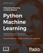 Cover of Python Machine Learning: Perform Python Machine Learning and Deep Learning with Python, scikit-learn, and TensorFlow
