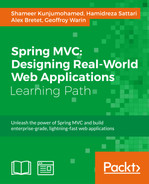 Cover of Spring MVC: Designing Real-World Web Applications