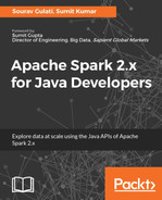 Cover of Apache Spark 2.x for Java Developers