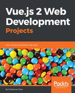 Cover of Vue.js 2 Web Development Projects