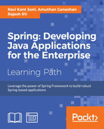 Cover of Spring: Developing Java Applications for the Enterprise