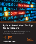 Cover of Python: Penetration Testing for Developers