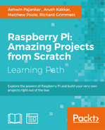 Cover of Raspberry Pi: Amazing Projects from Scratch