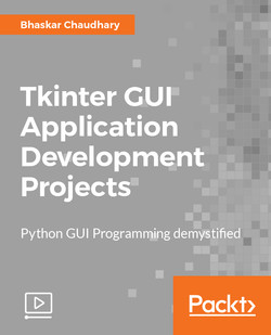 Tkinter GUI Application Development Projects