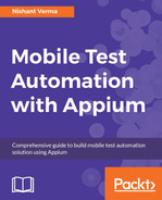 Cover of Mobile Test Automation with Appium