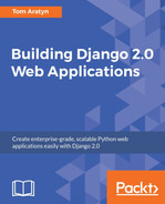 Cover of Building Django 2.0 Web Applications