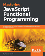 Cover of Mastering Javascript Functional Programming : Become skilled with Functional Programming in JavaScript by applying Javascript concepts to real world development problems