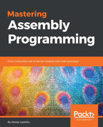 Cover of Mastering Assembly Programming