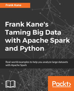 Cover of Frank Kane's Taming Big Data with Apache Spark and Python