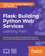 Cover of Flask: Building Python Web Services