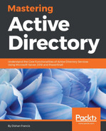 Cover of Mastering Active Directory