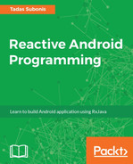 Cover of Reactive Android Programming