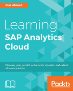 Cover of Learning SAP Analytics Cloud