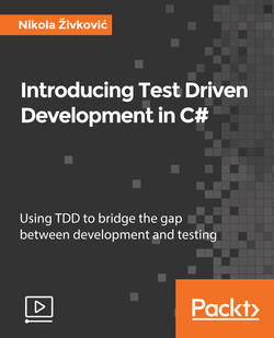 Introducing Test Driven Development in C#