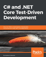 Cover of C# and .NET Core Test Driven Development