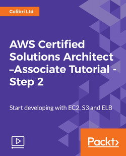 AWS Certified Solutions Architect –Associate Tutorial - Step 2