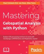Rasterio - Mastering Geospatial Analysis with Python [Book]