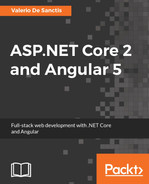 Cover of ASP.NET Core 2 and Angular 5