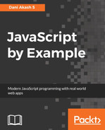 Cover of JavaScript by Example