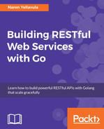 Building RESTful APIs with the Gin framework - Building RESTful Web