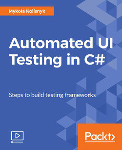Automated UI Testing in C#