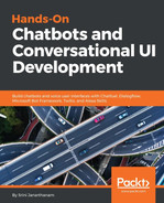 Cover of Hands-On Chatbots and Conversational UI Development