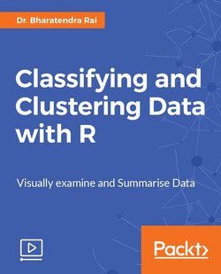 Classifying and Clustering Data with R