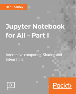 Jupyter Notebook for All – Part I