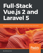 Cover of Full-Stack Vue.js 2 and Laravel 5