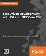 Cover of Test Driven Development with C# and .NET Core MVC [Video]