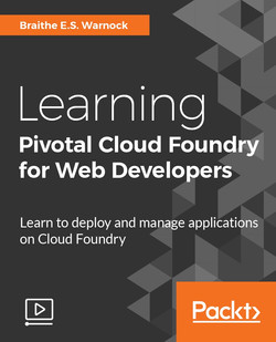 Learning Pivotal Cloud Foundry for Web Developers