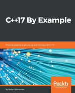 Cover of C++17 By Example