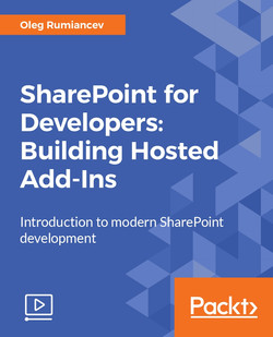 SharePoint for Developers: Building Hosted Add-Ins