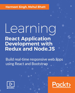 Learning React Application Development with Redux and Node.JS
