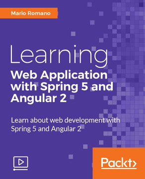 Learning Web Application with Spring 5 and Angular 2