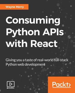 Consuming Python APIs with React