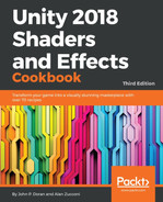 Cover of Unity 2018 Shaders and Effects Cookbook