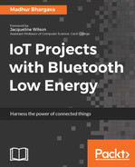Cover of IoT Projects with Bluetooth Low Energy