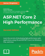 Cover of ASP.NET Core 2 High Performance - Second Edition