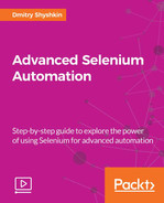 Cover of Advanced Selenium Automation