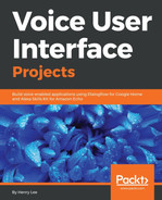 Cover of Voice User Interface Projects