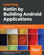 Cover of Learning Kotlin by building Android Applications