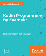 Cover of Kotlin Programming By Example