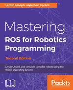 Creating an amcl launch file - Mastering ROS for Robotics