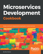 Cover of Microservices Development Cookbook