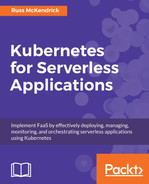 Cover of Kubernetes for Serverless Applications