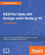 Cover of RESTful Web API Design with Node.js 10 - Third Edition